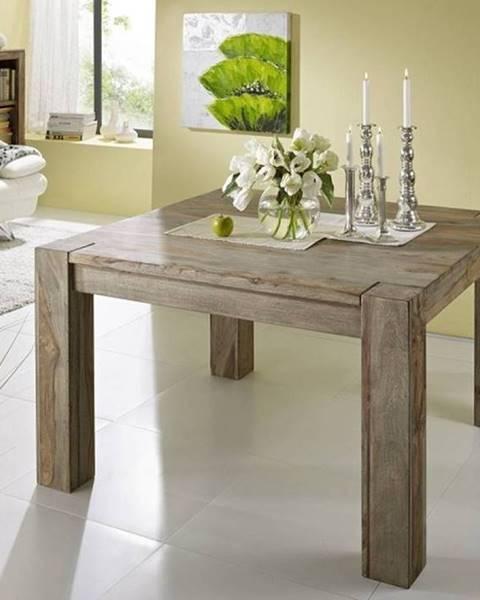 Bighome.sk GREY WOOD Jedálenský stôl 120x100 cm, palisander