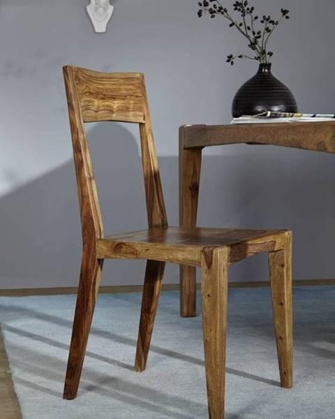 Bighome.sk MODERNA Jedálenská stolička drevená, palisander