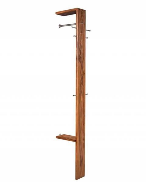 Bighome.sk MONTREAL Vešiak 200x36 cm, hnedá, indický palisander
