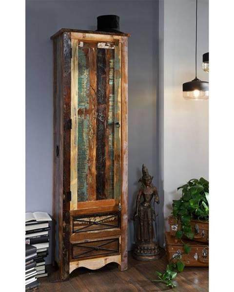 Bighome.sk OLDTIME Skriňa na veci 200x60 cm, staré drevo