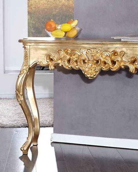 Bighome.sk Toaletný stolík VENICE GOLD
