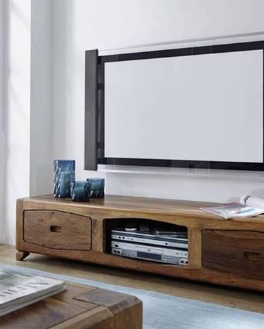 MODERNA TV stolík 160x33 cm, palisander