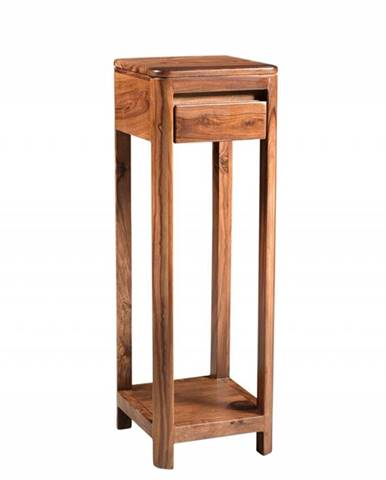 MONTREAL Príručný stolík 30x90 cm, hnedá, palisander