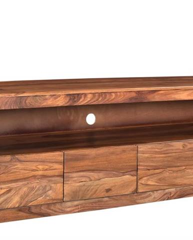 MONTREAL TV stolík 190x60 cm, hnedá, palisander