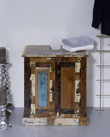 OLDTIME BAD Skrinka 60x66 cm, staré drevo
