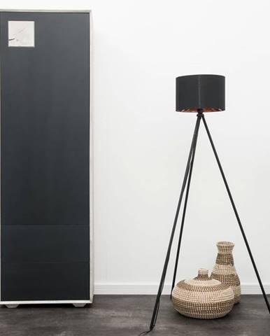 TAMPERE Skriňa 60x110 cm, dub, svetlosivá