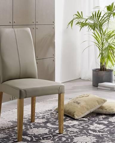 VIENNA Jedálenská stolička, sivá