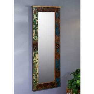 OLDTIME Zrkadlo 59x145 cm, staré drevo