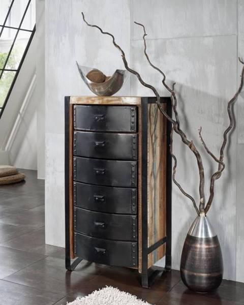 Bighome.sk INDUSTRY Komoda 120x60 cm, staré drevo