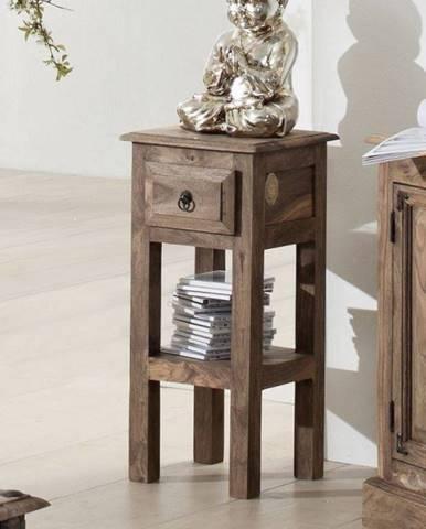 CASTLE Príručný stolík 65x30 cm, palisander