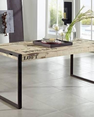 FABRICA Jedálenský stôl 200x100 cm, mango
