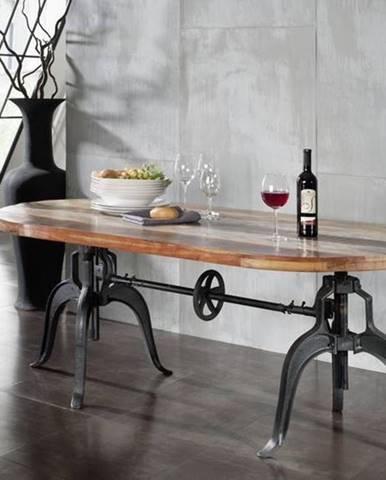 INDUSTRY Jedálenský stôl 180x100 cm, staré drevo