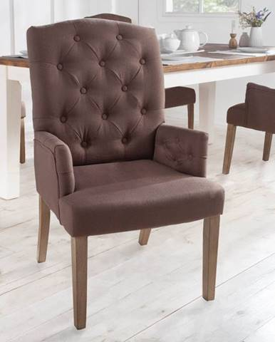 Jedálenská stolička s operadlami KASTLE