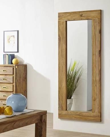 LIGHT WOOD Zrkadlo 185x80 cm, palisander