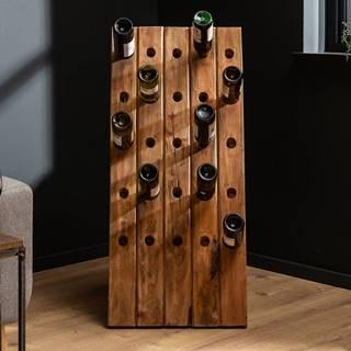 Regál na víno ERNEST 107 cm