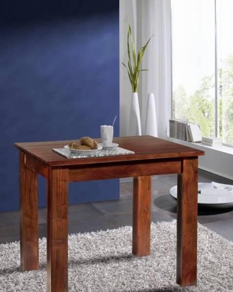 Bighome.sk CAMBRIDGE Jedálenský stôl 85x85 cm, akácia
