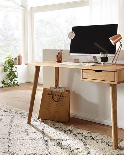 Bighome.sk MELBOURNE Písací stôl 120 cm, dub