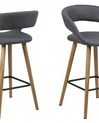 Barová stolička GRACE, tmavošedá