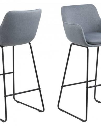 Barová stolička LISA, modrá