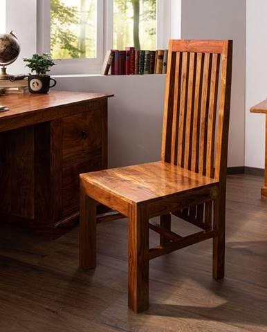CAMBRIDGE HONEY Jedálenská stolička designer drevená