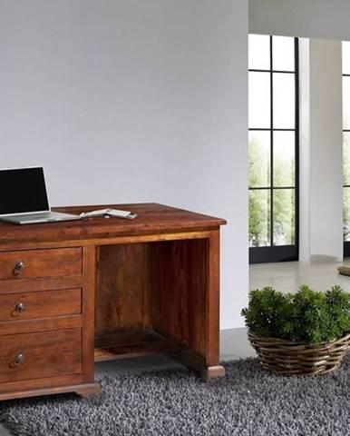 CAMBRIDGE Písací stôl 130x80 cm, akácia