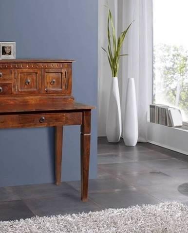 CAMBRIDGE Písací stôl 85x68 cm, akácia