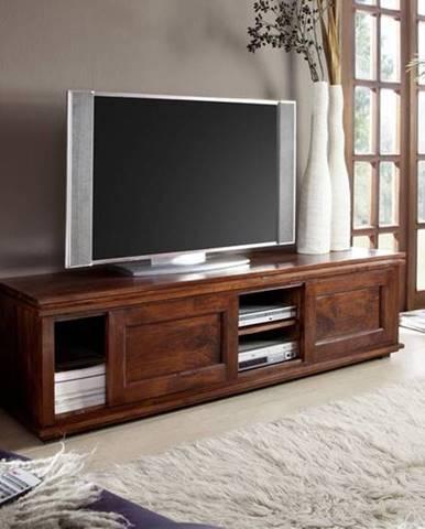 CAMBRIDGE TV stolík 160x45 cm, akácia
