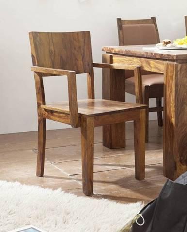 DAKOTA Kreslo drevené, palisander