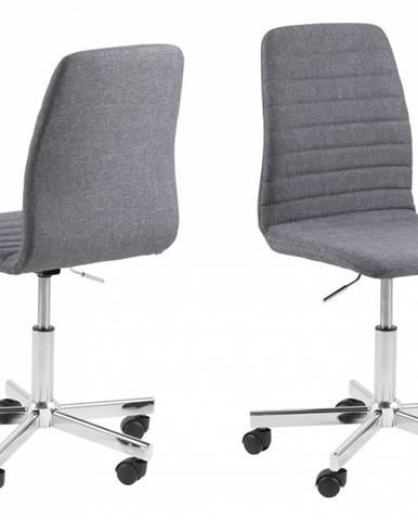 Kancelárska stolička AMANDA, sivá