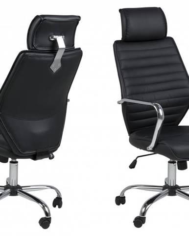 Kancelárska stolička EARTH, čierna
