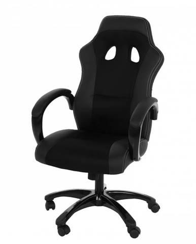 Kancelárska stolička RACE, čierna