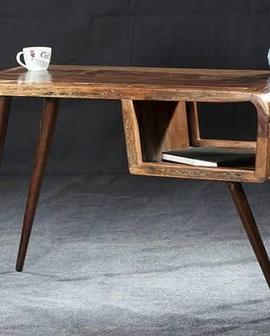 RETRO Písací stôl 116x59 cm, staré drevo
