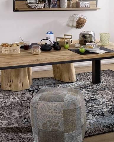 TIROL Jedálenský stôl 240x100 cm, prírodná, dub