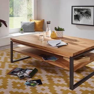 WAGGA Konferenčný stolík 120x80 cm, dub