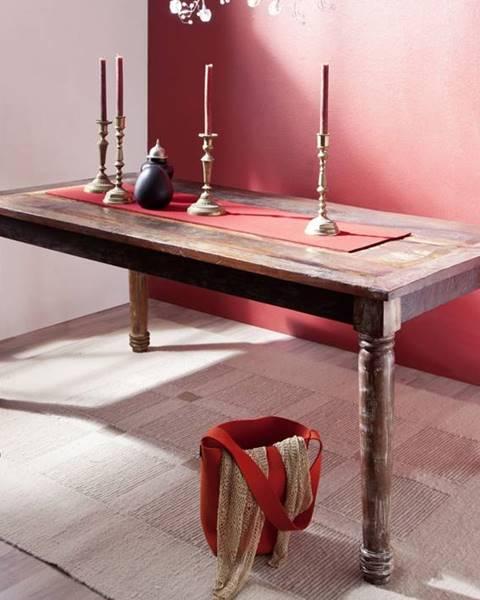 Bighome.sk COLORES Jedálenský stôl 80x80 cm, staré drevo