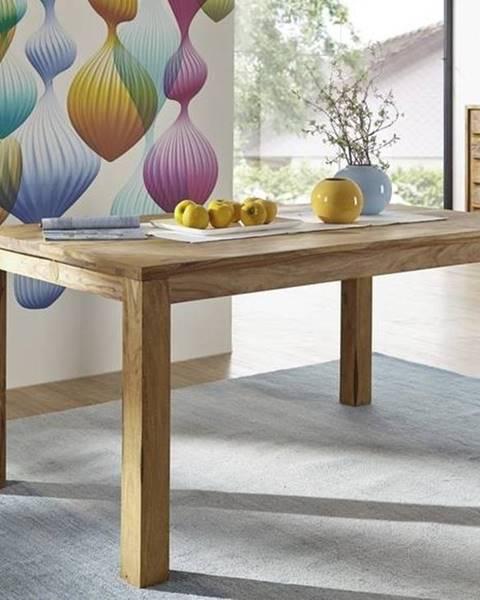 Bighome.sk LIGHT WOOD Jedálenský stôl 120x90 cm, palisander