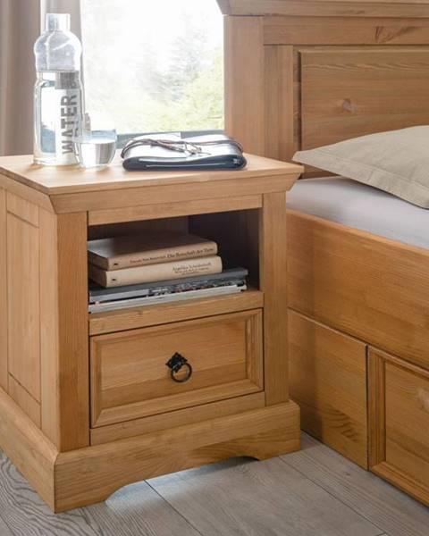 Bighome.sk SYDNEY Nočný stolík 48x60 cm, borovica