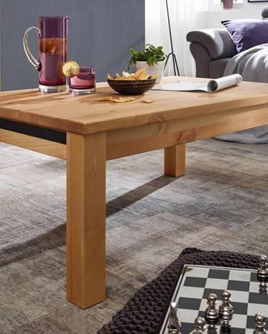 ALBURY Konferenčný stolík 110x70 cm, borovica, prírodná
