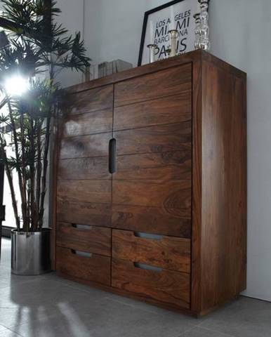BARON Komoda 125x118 cm, palisander