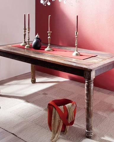 COLORES Jedálenský stôl 140x80 cm, staré drevo