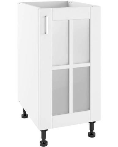 Kuchynská skrinka Milano Bianco Super Mat POWS 40