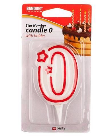 Narodeninová sviečka č. 0