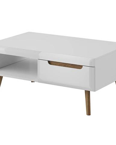 Konferenčný stolík NORDI NL107 biela