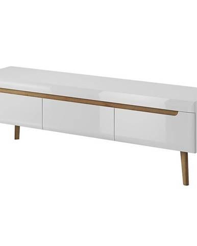 TV stolík NORDI 160 biela