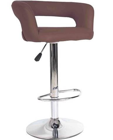 Barová stolička Jupiter hnedá 7166