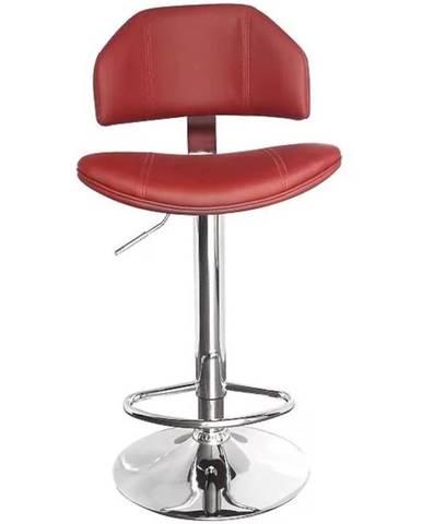 Barová stolička Kwazar burgund 7373