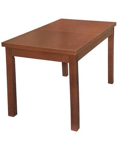 Jedálenský stôl 100 i 120x70+40 gaštan/buk bawaria