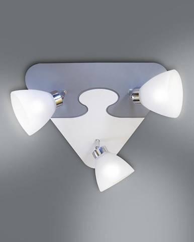 Lampa puzzle K3P-16 šedá PL3