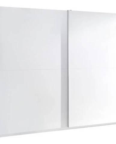 Skriňa Lux 3 244 cm  biela  lesklá