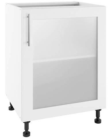 Kuchynská skrinka Luna Bianco Super Mat POW 60